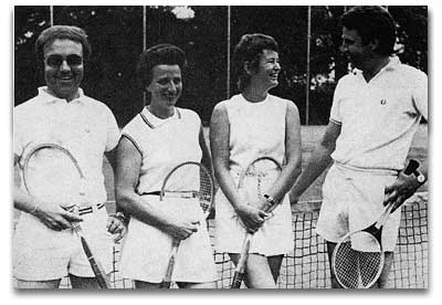 Innovation der Rackets 1974