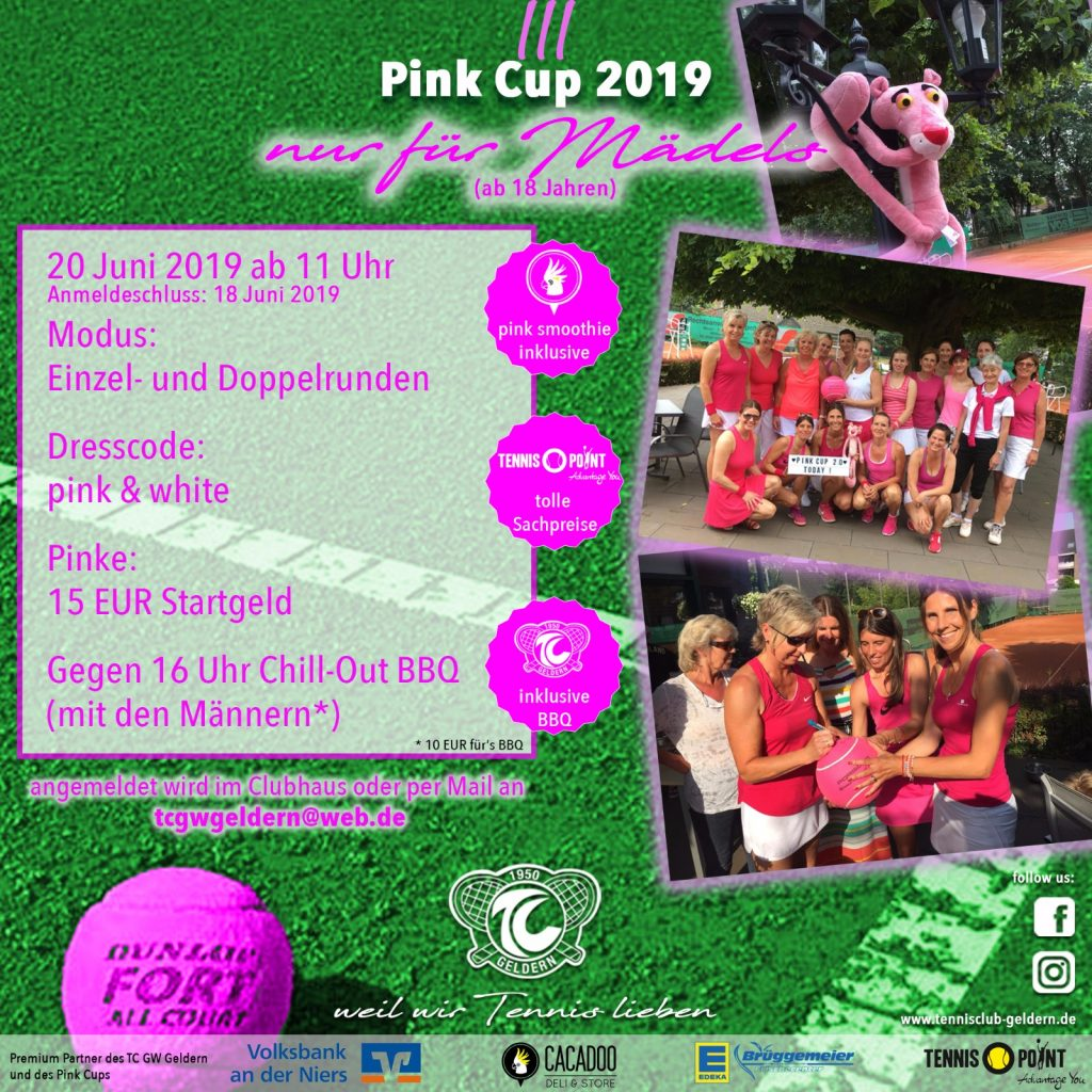 Pink Cup 2019